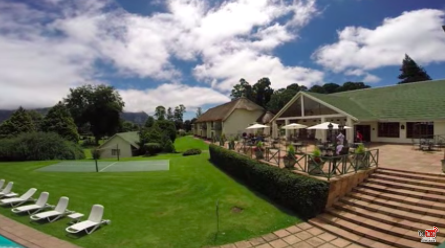 Africa Travel Channel, rootsafrikiko and Champagne Castle Hotel