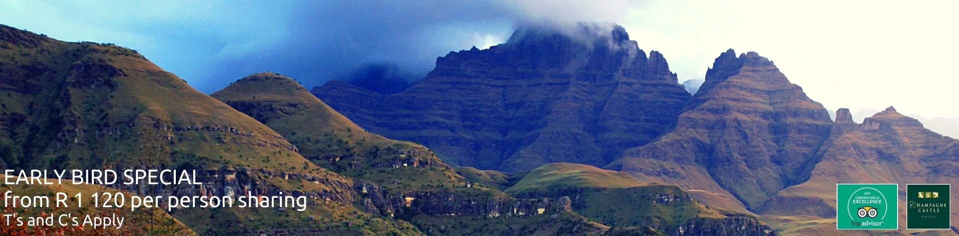 early bird accommodation special in the drakensberg