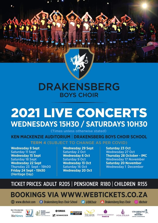 drakensberg boys choir performance schedule