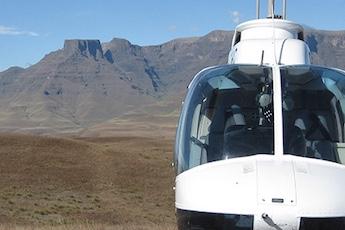 helicopter flips chopper westline aviation champagne castle hotel